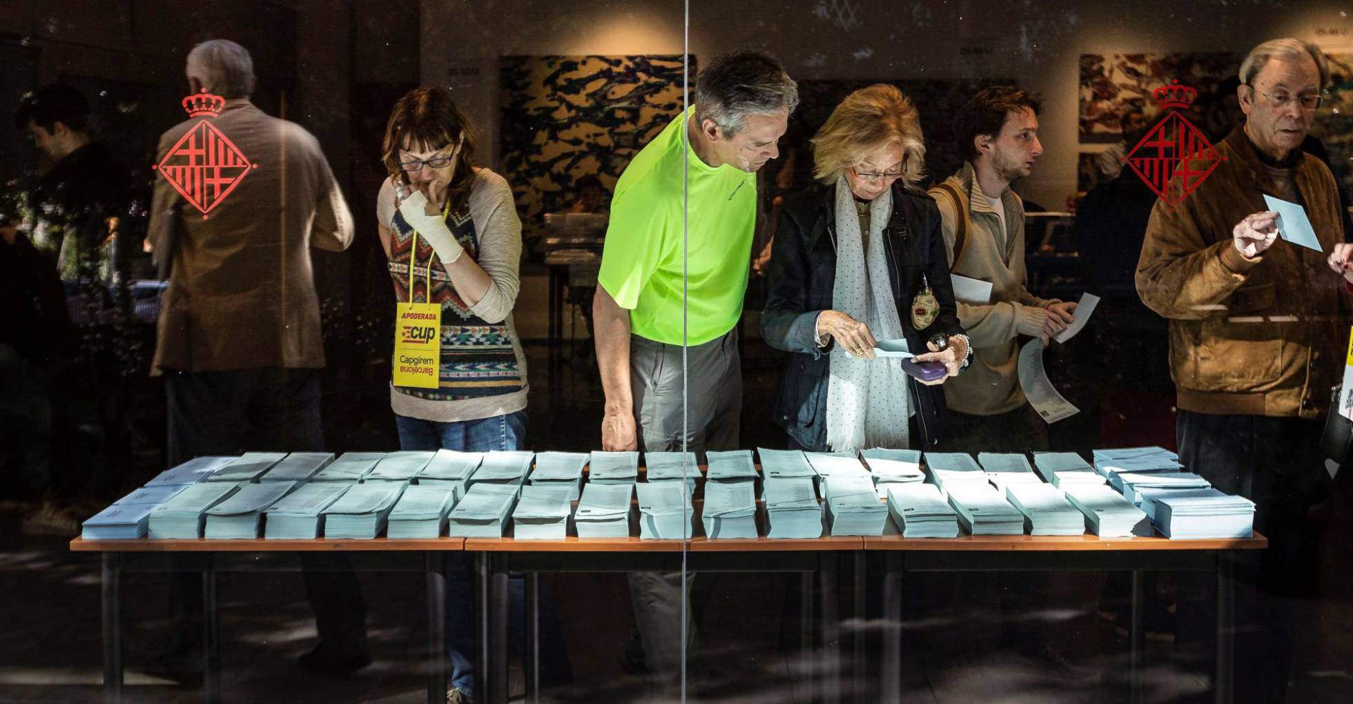 Eleccions municipals: la jornada electoral, en imatges