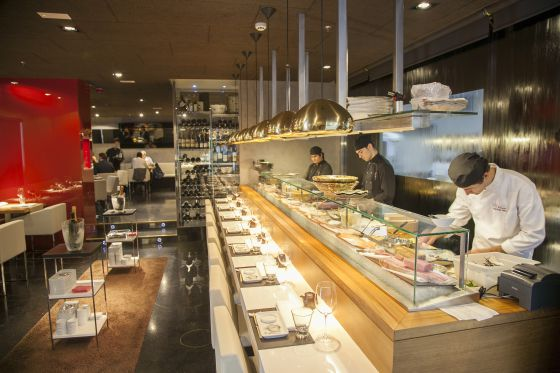 Restaurante 99 Sushi Bar Nigiris versin espaola  El