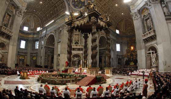 Consistory in St. Peter's Basilica