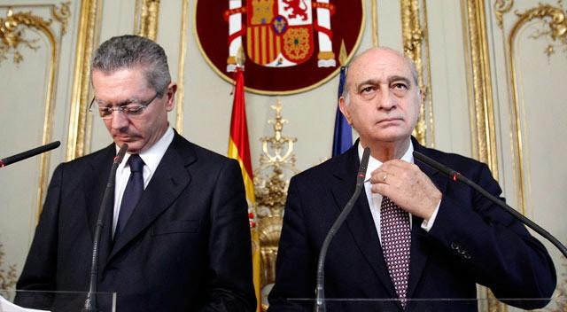 Gallardón y Fdez. Díaz hoy en Justicia.