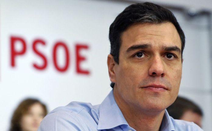 Resultado de imagen para Fotos dePedro Sánchez y la presidenta del parlamento español