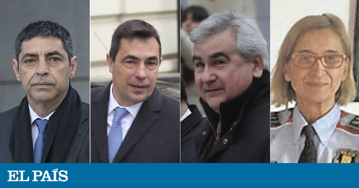 Former Mossos leader Josep Lluís Trapero: who is who in the latest trial on Catalan independence 2017 | In English