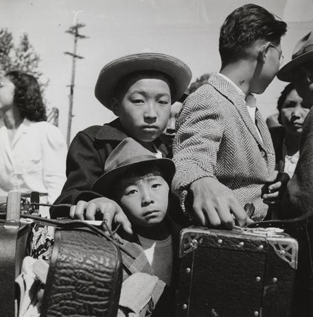 Resultado de imagen de fotos recluidos japoneses de dorothea lange