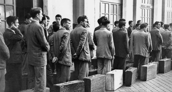Resultado de imagen de emigracion española
