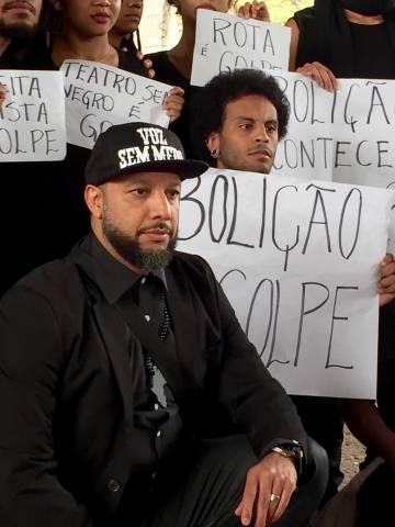 Eugênio Lima (à frente).