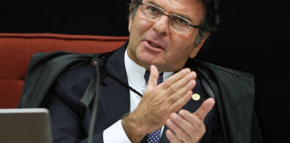 O ministro Fux, do STF.