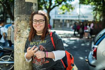 Helena Monteleone migrou para um colégio público neste ano.