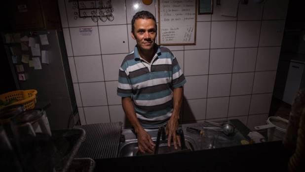 José Amarildo Rodrigues perdeu 40% de seus clientes de seu restaurante nos útimos quatro anos
