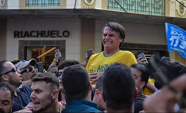 Presidente Jair Bolsonaro é esfaqueado em Juiz de Fora.