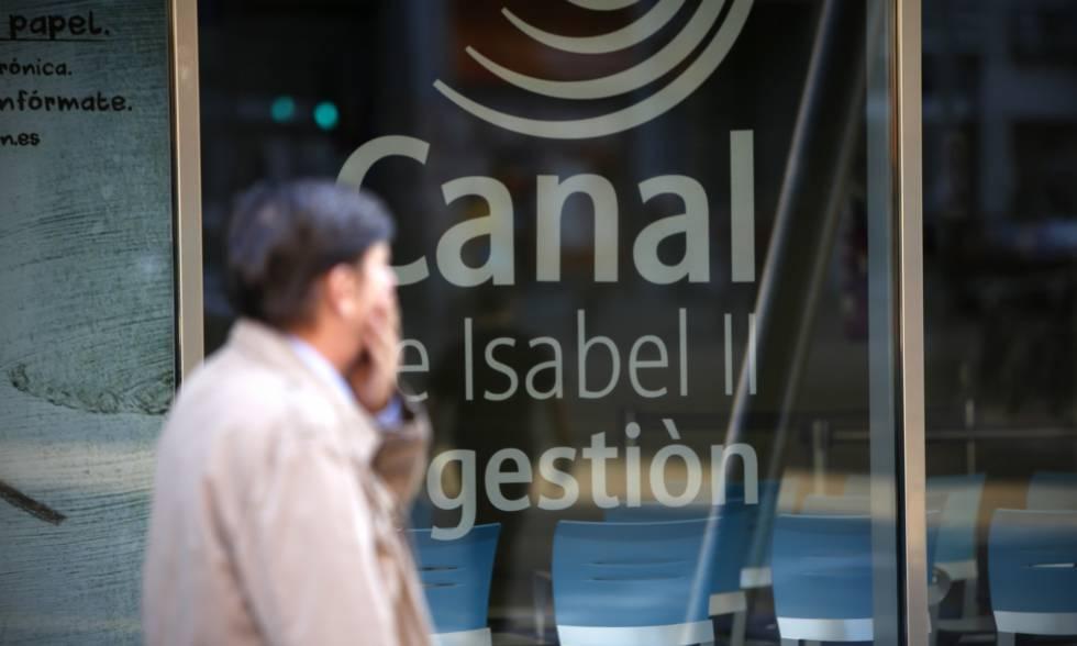 Oficinas del Canal de Isabel II, en la esquina de Santa Engracia con José Abascal, en Madrid.