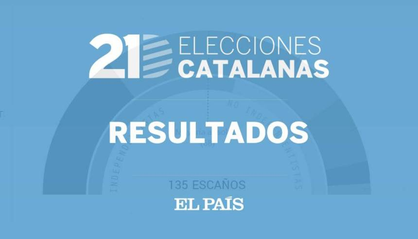 Resultados de las elecciones catalanas 2017