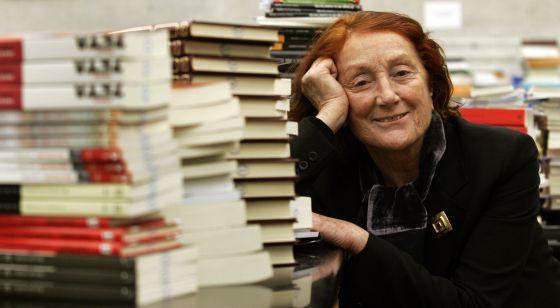 Rosa Règas en 2006, cuando era directora de la Biblioteca Nacional.