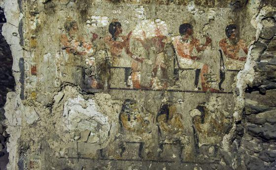 Tumba que perteneció a un responsable de alto rango que vivió durante la XVIII dinastía faraónica