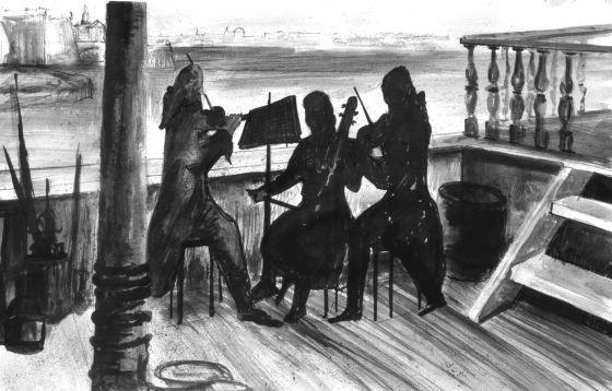 En los barcos había teatro y conciertos, a la vez que las condiciones de vida eran lamentables.