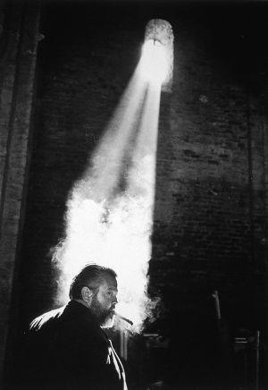 Orson Welles en una imagen de la exposición de fotografías de Magnum 'La pasión por el cine', en Lisboa en 2001.