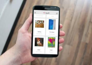 Algunas de las obras que se pueden comprar a través de la aplicación.