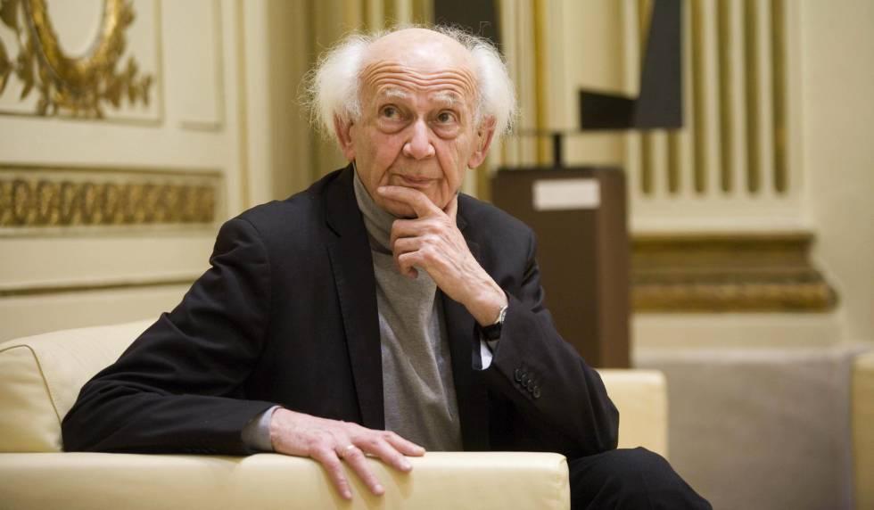 Zygmunt Bauman, en San Sebastián.