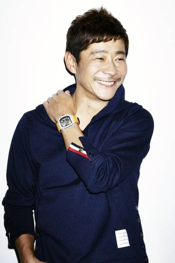 El coleccionista japonés Yusaku Maezawa