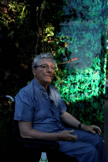 Jorge Martínez Reverte, este lunes en la Feria del Libro de Madrid.