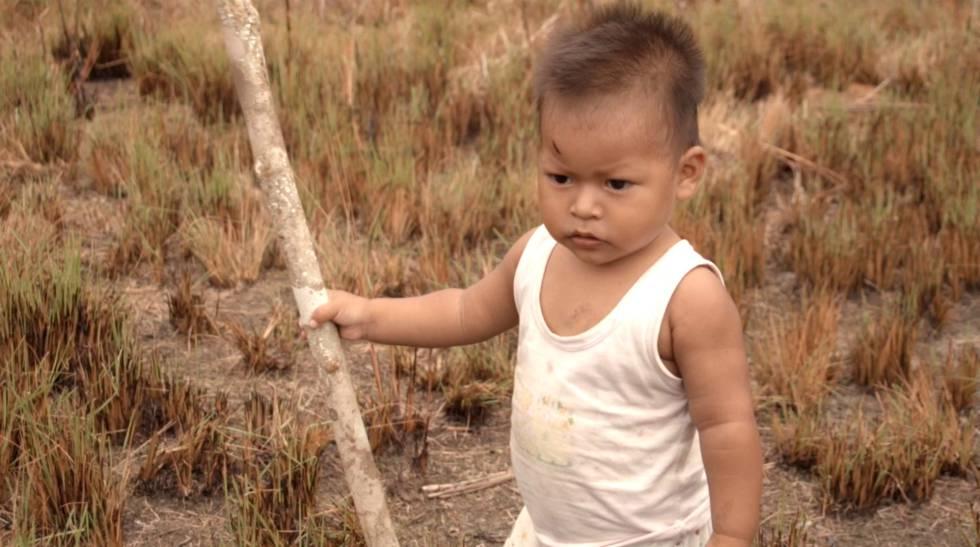 Enoca, hijo del líder y activista indígena Rubén Medina.