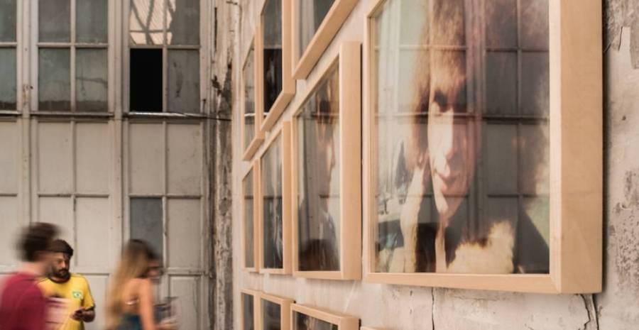 Exposición sobre Jonas Mekas.