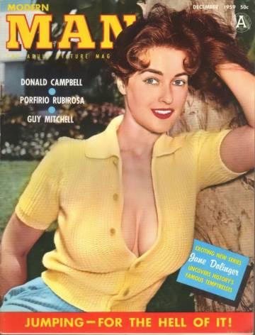 Jane Dolinger, en al portada de la revista 'Man'.