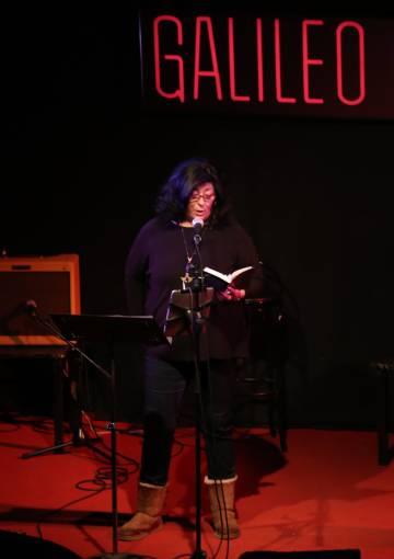 Almudena Grandes, este miércoles en el homenaje a Ángel Gabilondo.