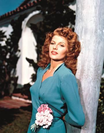 Rita Hayworth, en los años cuarenta.