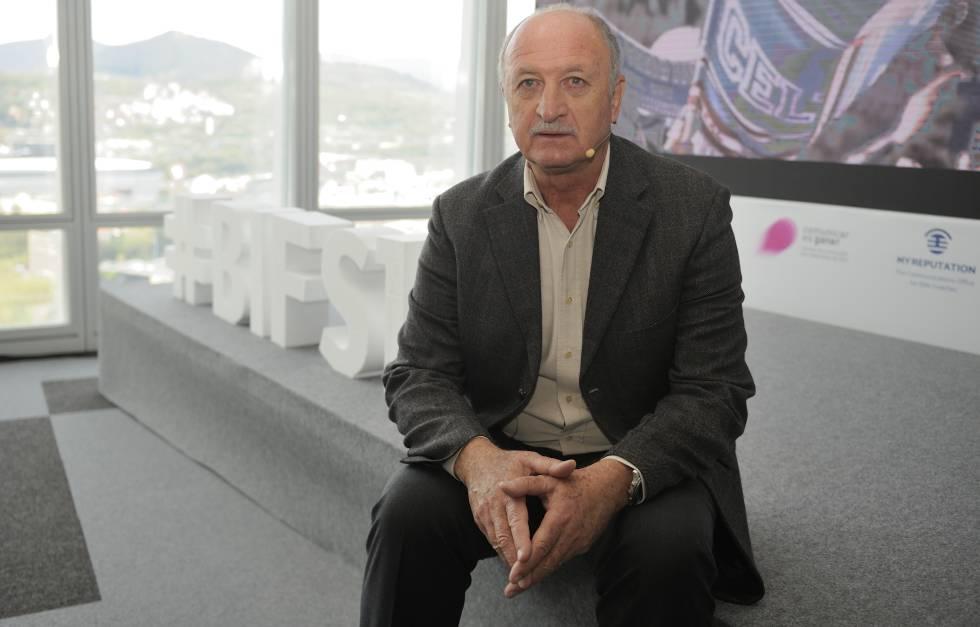 Scolari no Bilbao International Football Summit