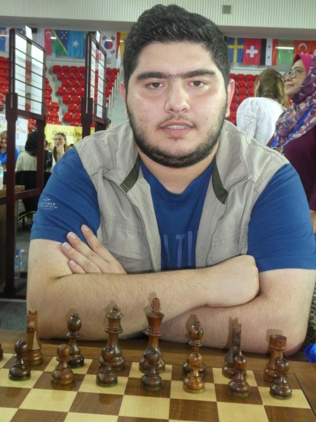 Parham Maghsoodloo, campeón del mundo sub 20.