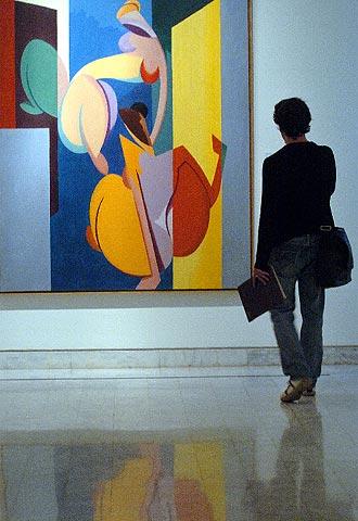 Magnelli recorre en su obra el trnsito del futurismo al cubismo  Edicin impresa  EL PAS