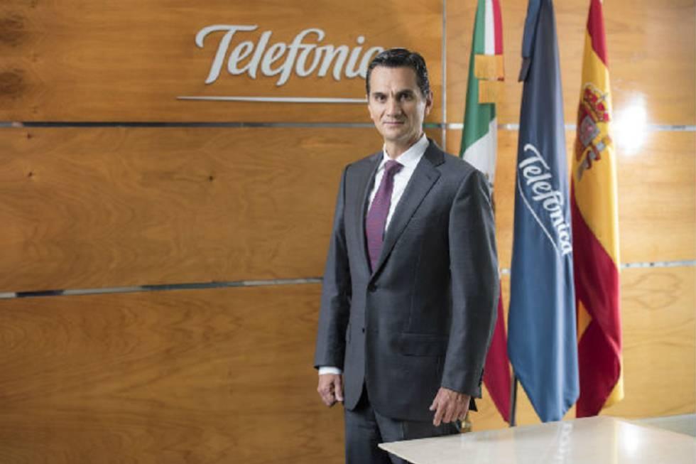 Imagen de empresa del nuevo presidente de Telefónica México, Carlos Morales Paulín.