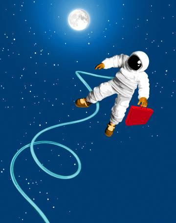 La empresa privada asalta el cosmos
