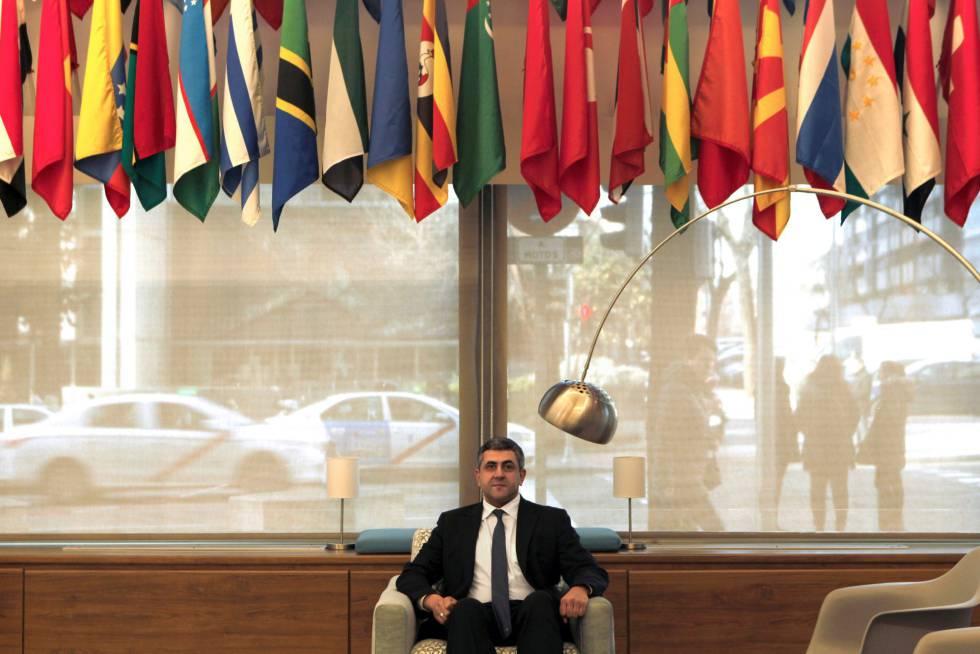 El secretario general de la Organización Mundial del Turismo (OMT), Zurab Pololikashvili