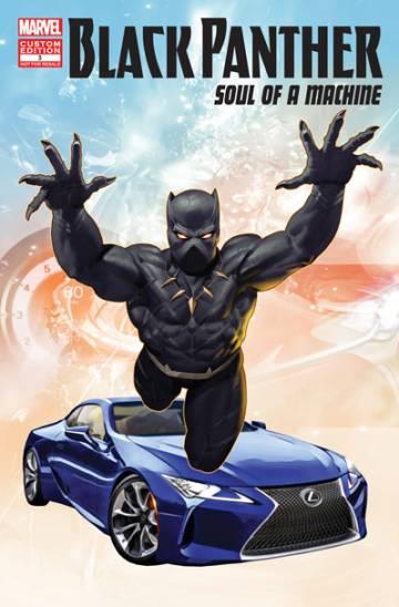Lexus pide auxilio a un superhéroe
