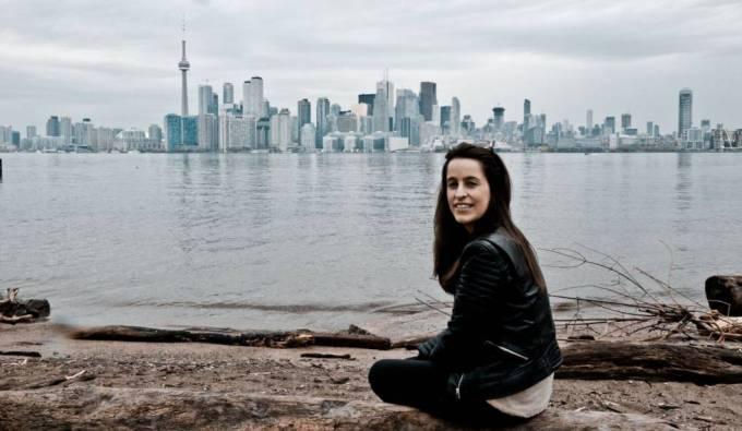 Ana Paredes en Toronto.