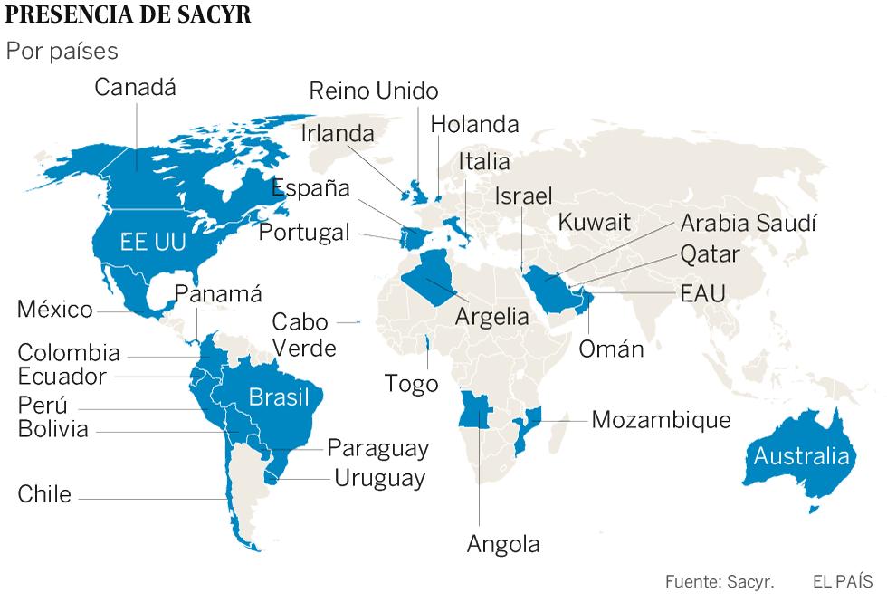 El negocio de Sacyr esquiva su crisis