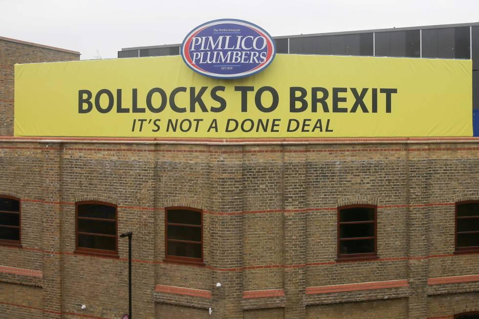 Otro de los carteles de Pimlico en Londres
