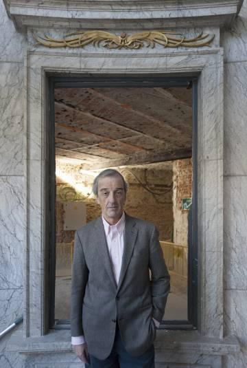 Rafael de La-Hoz en el interior del Hotel Ritz.
