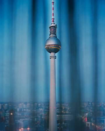 La torre de la televisión en Alexanderplatz (Berlín).Alec Soth