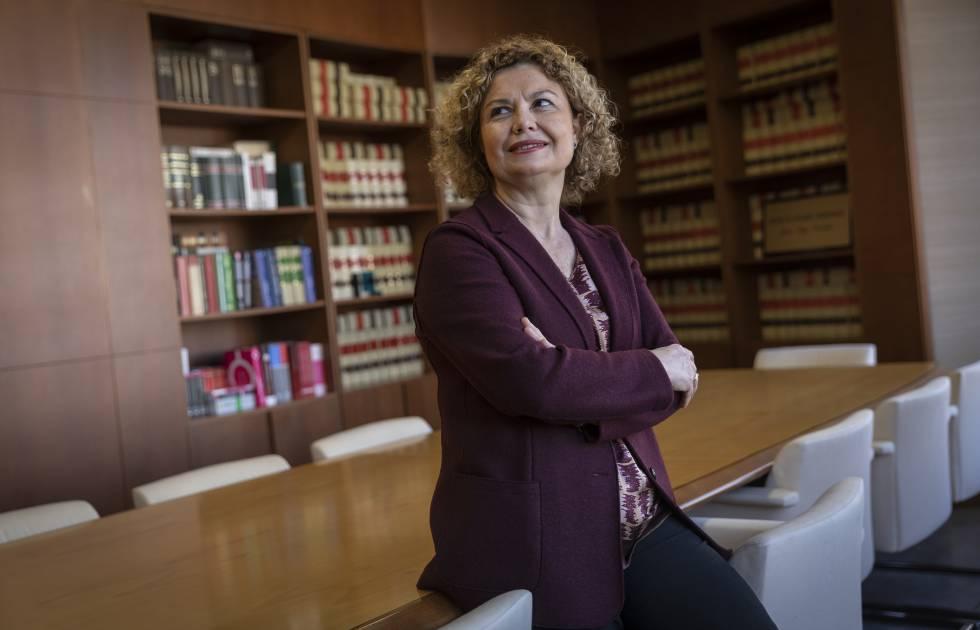 María Emilia Adán, decana del Colegio de Registradores de España.