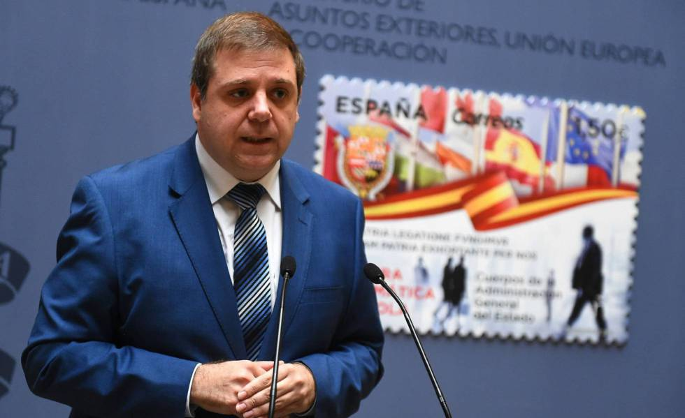 El presidente de Correos, Juan Manuel Serrano.