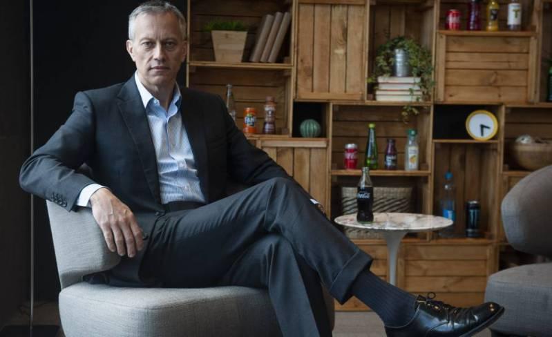 James Quincey, presidente y consejero delegado de Coca-Cola.