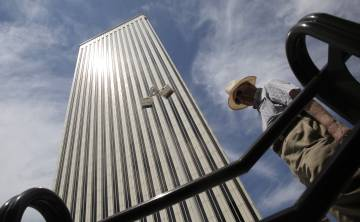Torre Picasso de Madrid, propiedad de Pontegadea