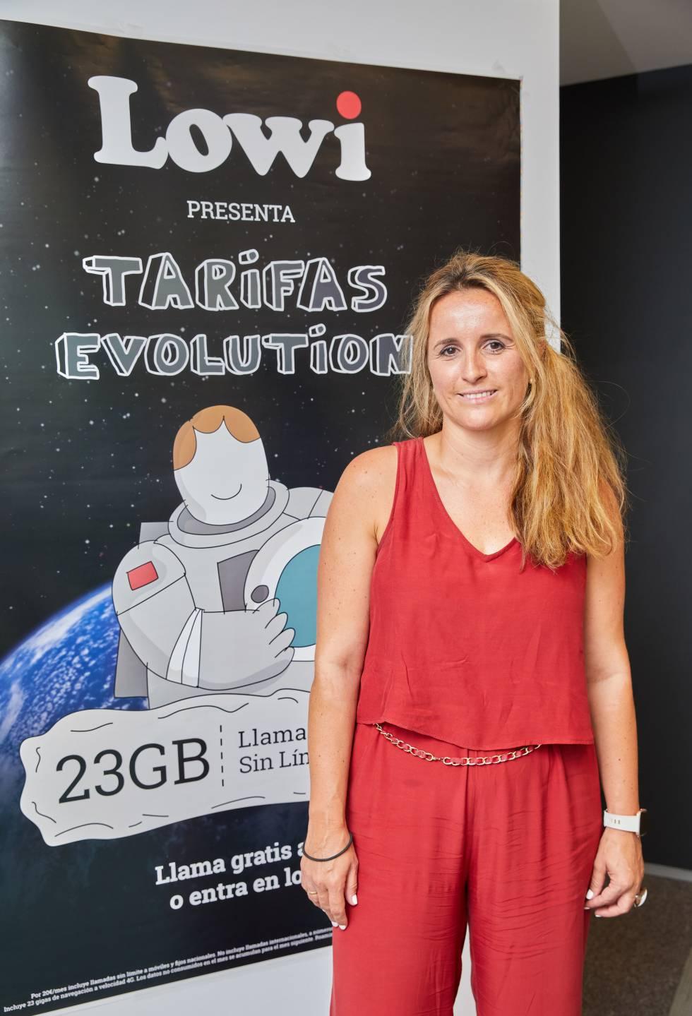 Loly Marín, directora general de Lowi.