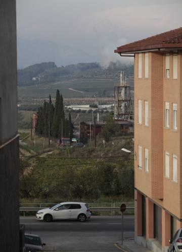 Avinyonet del Penedès, municipio del Alt Penedès, ayer.
