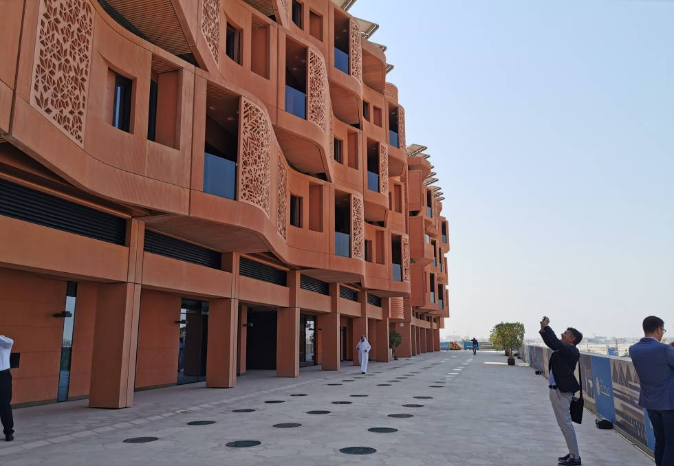 Calles de Masdar City.