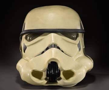 Prototipo del casco de los soldados imperiales, valorado entre 40.000 y 70.000 euros.