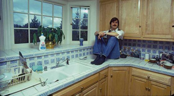 Steve Jobs na juventude.
