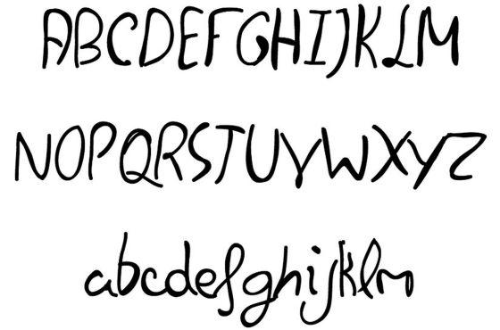 'Felipe Script', tipografía basada en la letra de Felipe VI.